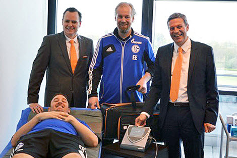 FC Schalke uses Bemer, with Peter Kaiser