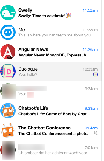 Bots in Facebook Messenger