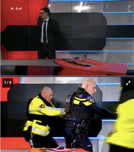 Verwarde man uit Pijnacker in het acht uur journaal van 29 januari 2015
